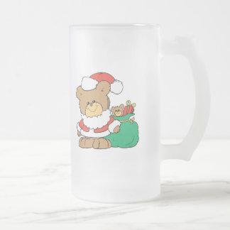 Cute Santa Bear and Toy Sack Mug