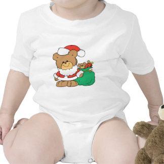 Cute Santa Bear and Toy Sack Shirt