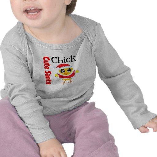 Cute Santa Chick Shirt