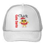 Cute Santa Chick Trucker Hat
