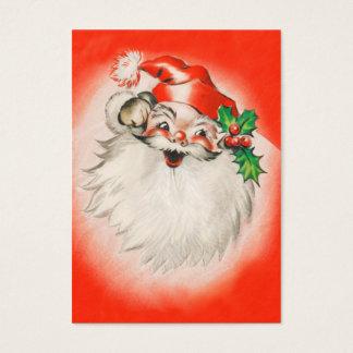 Cute Santa Christmas Name Tags