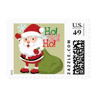 Cute Santa Christmas postage
