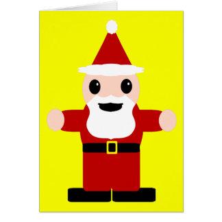 Cute Santa Claus Card