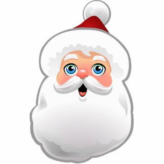 Cute Santa Claus Cartoon Statuette