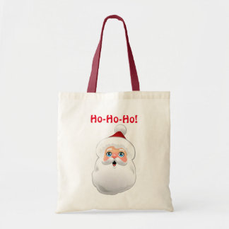 Cute Santa Claus Cartoon Tote Bag
