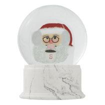 Cute Santa Claus Christmas Snow Globe
