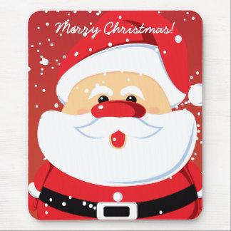 Cute Santa Claus custom mousepad