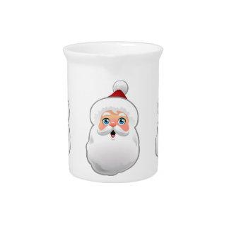 Cute Santa Claus Drink Pitcher