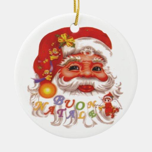 Cute Santa Claus Ornaments