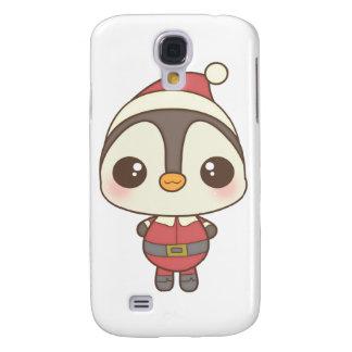 cute santa claus penguin character HTC vivid cases