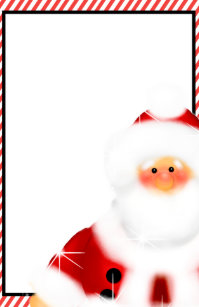 cute santa claus stationary stationery