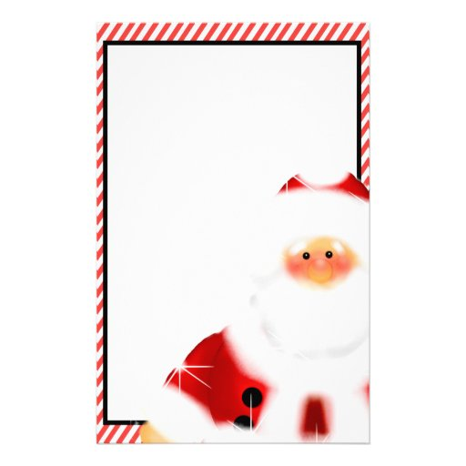 Santa Stationary Cute santa claus stationary
