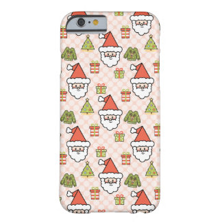 Cute Santa Clause Barely There iPhone 6 Case