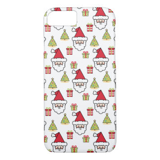 Cute Santa iPhone 8/7 Case