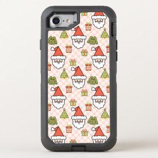 Cute Santa OtterBox Defender iPhone 8/7 Case
