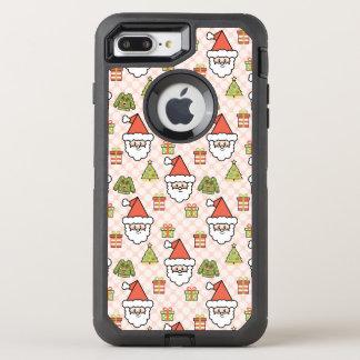 Cute Santa OtterBox Defender iPhone 8 Plus/7 Plus Case