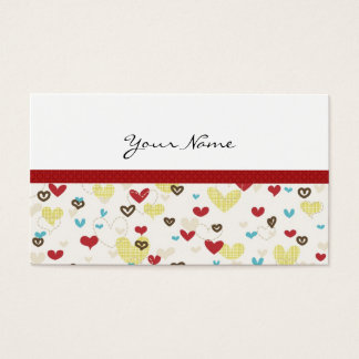 CUTE & SASSY HEARTS PROFILE OR BUSINESS CARD