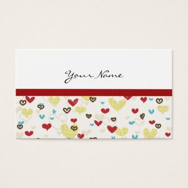 Professional Business CUTE & SASSY HEARTS PROFILE OR BUSINESS CARD