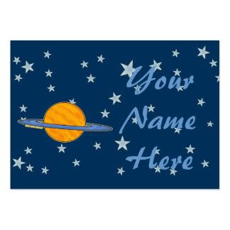 Cute Saturn Business Cards