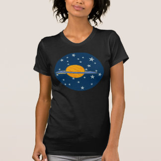 Cute Saturn Ladies T-Shirts