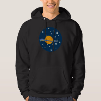Cute Saturn Men's Hoodies
