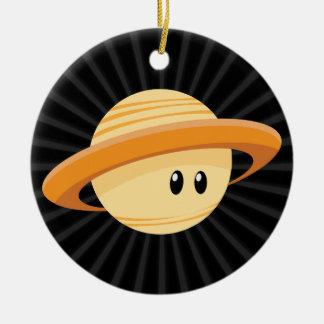 Cute Saturn Planet Christmas Tree Ornament