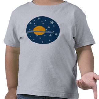 Cute Saturn Toddler T-Shirts