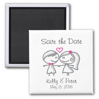 Cute Save the Date Magnet