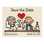 Cute Save the Date Postcards