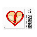 Cute Save The Dates Postage Stamps