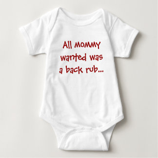 Cute saying baby baby bodysuit