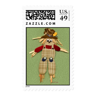 Cute Scarecrow Stamps
