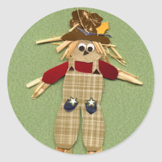 Cute Scarecrow Stickers
