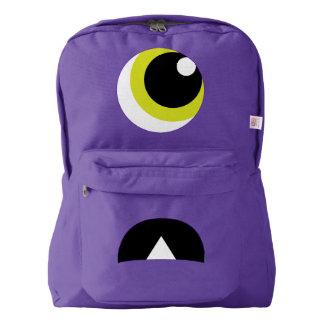 Cute Scared Monster Backpack for Kids
