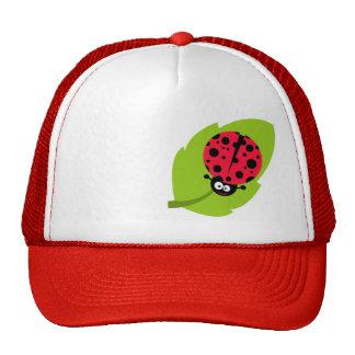Cute Scarlet Red Ladybug Trucker Hat