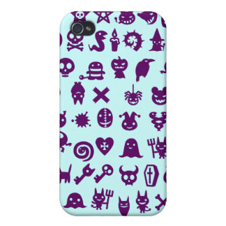 Cute Scary Monsters iPhone 4 Case