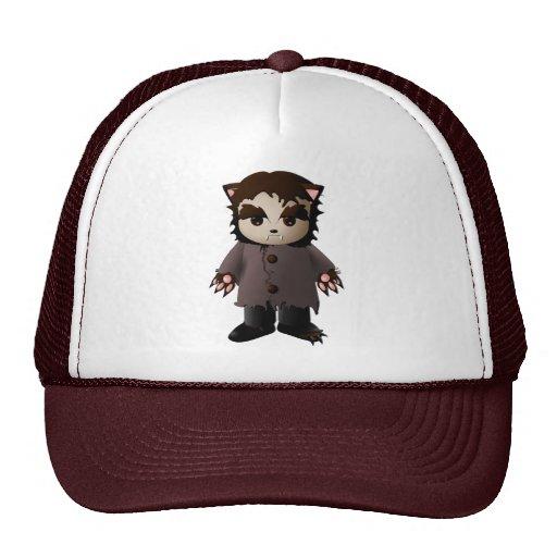 Cute Scary Werewolf Mesh Hat
