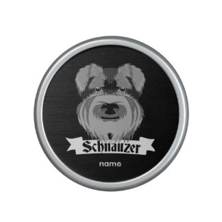Cute Schnauzer Bluetooth Speaker