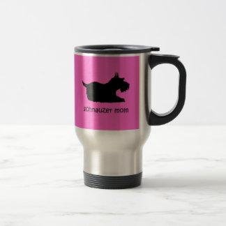 Cute Schnauzer Coffee Mug