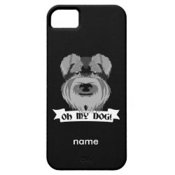 Case-Mate Vibe iPhone 5 Case with Miniature Schnauzer Phone Cases design