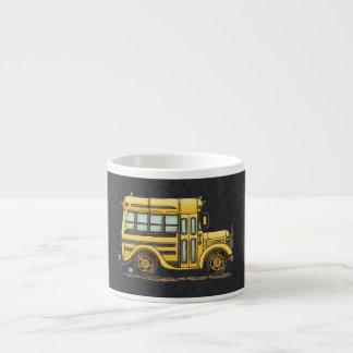 Cute School Bus Espresso Cup