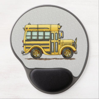 Cute School Bus Gel Mouse Pad