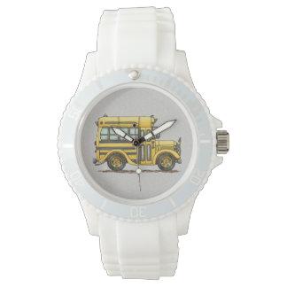 Cute School Bus Wrist Watch