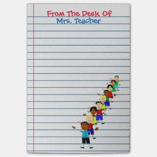 Cute School Kids Teacher Post-its Notes