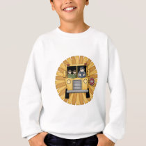 Cute Schoolbus design Sweatshirt