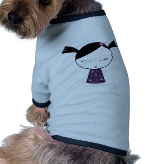 Cute Schoolgirl Doll Pet Shirt