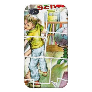 Cute Schoolteachers Helper Design Cases For iPhone 4