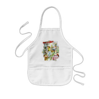 Cute Schoolteachers Helper Design Kids' Apron