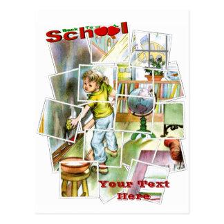 Cute Schoolteachers Helper Design Postcard