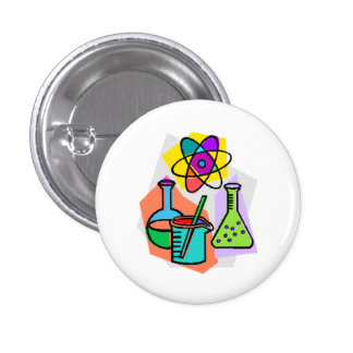 Cute Science button for everyone.